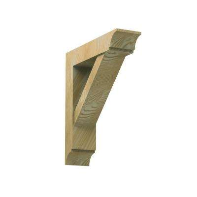 5-1/2 in. x 24 in. x 22 in. Polyurethane Timber Bracket