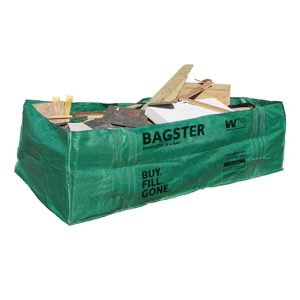 Disposable dumpster home depot construction tool bags