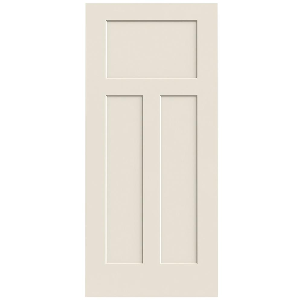 Jeld Wen 36 In X 80 Craftsman Primed Smooth Solid Core Molded