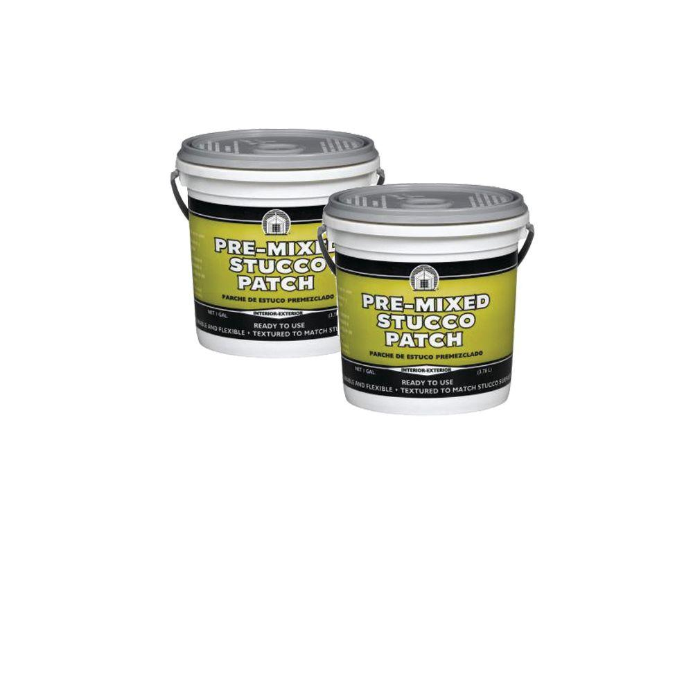 DAP Pre-Mixed Stucco Patch 1 Gal. Off-White (2-Pack)