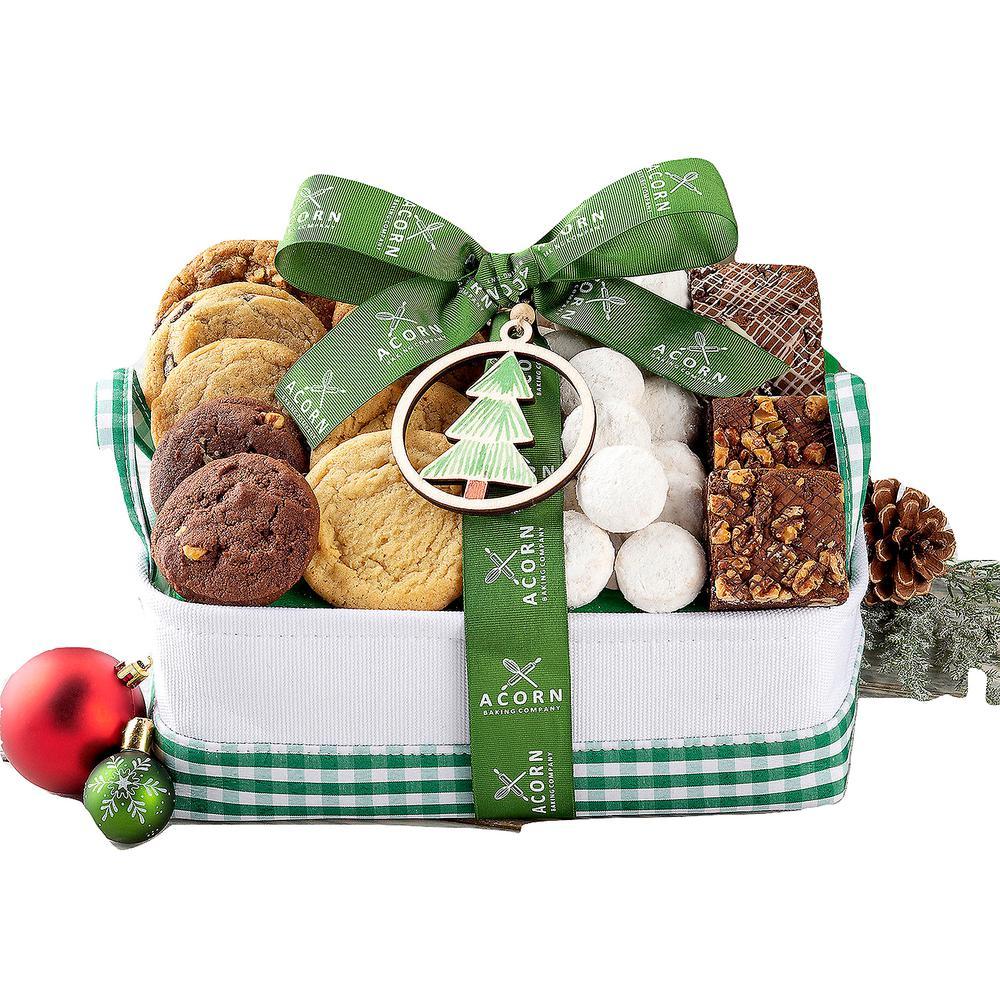 Christmas Cookie and Brownie Gift Basket