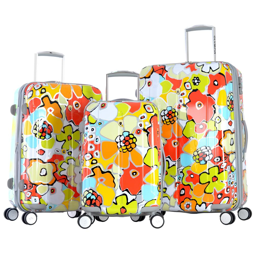 Blossom II 3-Piece Expandable Polycorbonate Spinner Set w...