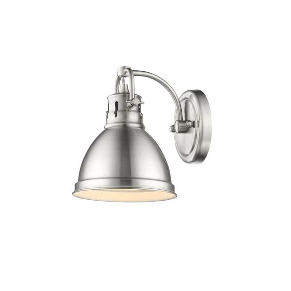 Duncan Pewter 1-Light Bath Light