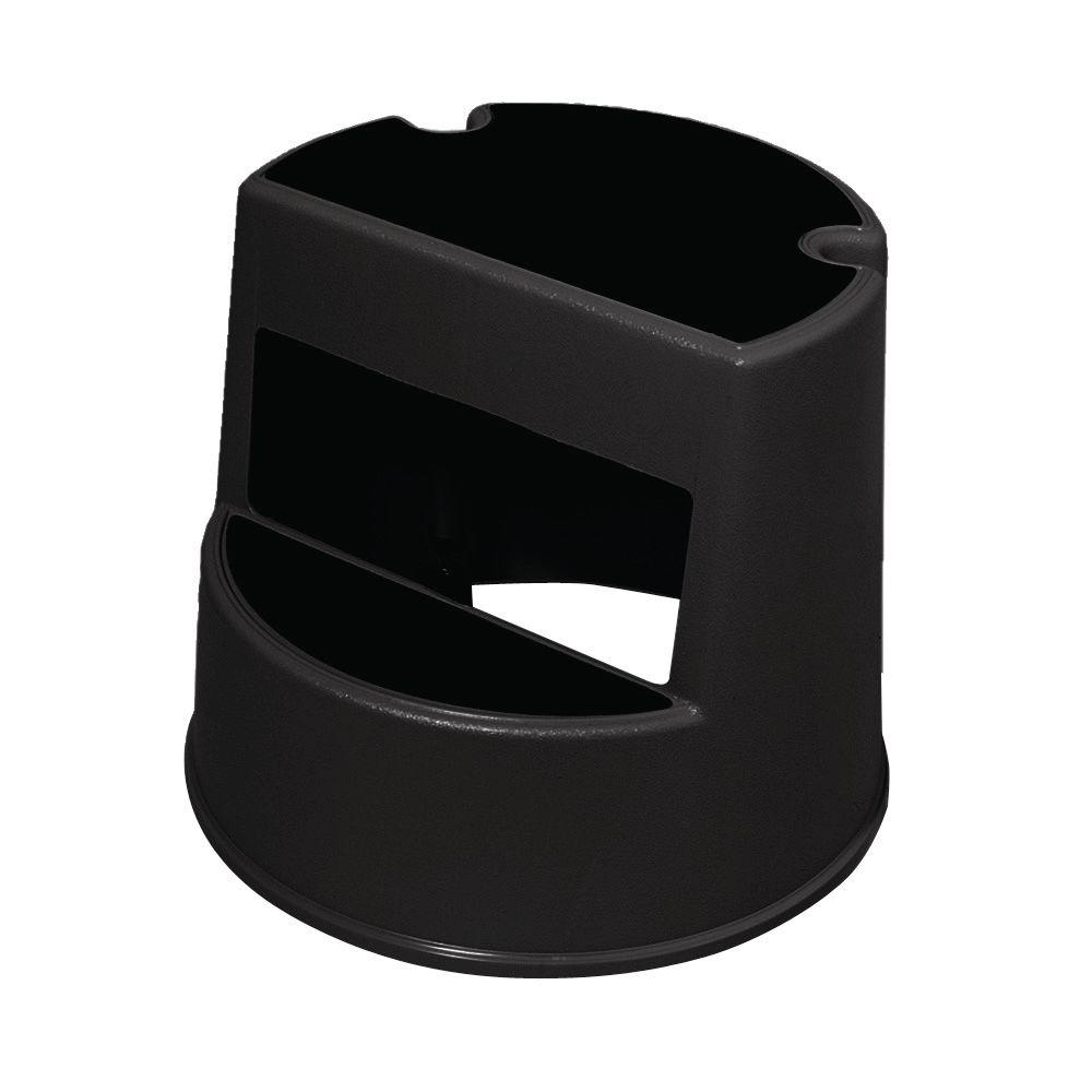 Cool Rubbermaid Commercial Products Mobile 2 Step Stool In Black Caraccident5 Cool Chair Designs And Ideas Caraccident5Info