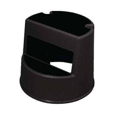 Mobile 2-Step Stool in Black