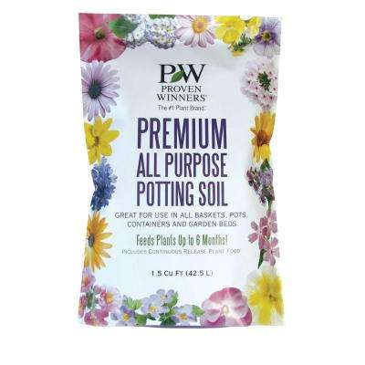 Premium 1.5 cu. ft. All Purpose Potting Soil