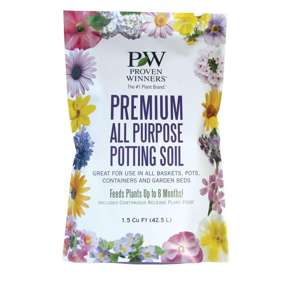 1.5 cu. ft. Premium All Purpose Potting Soil
