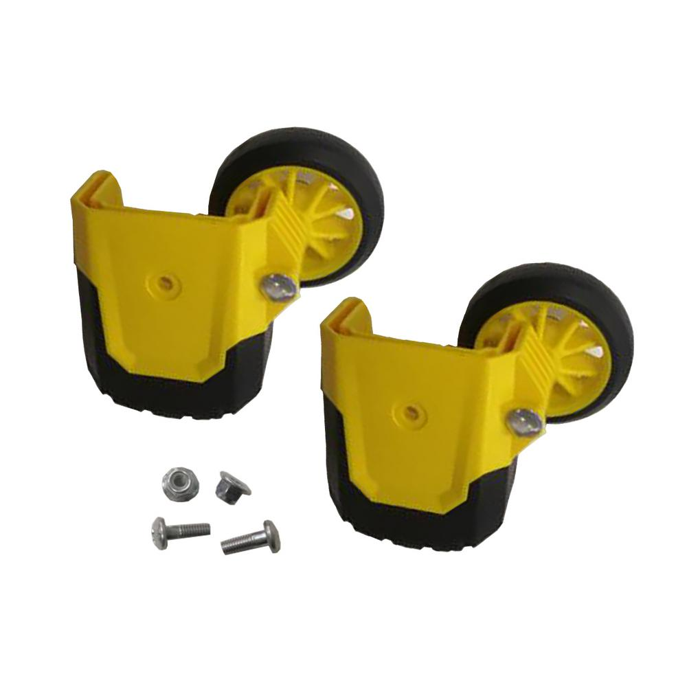 Gorilla Ladders Wheel Kit For Gorilla Glmpxa Multiposition Ladders Glmpxt Ftw The Home Depot