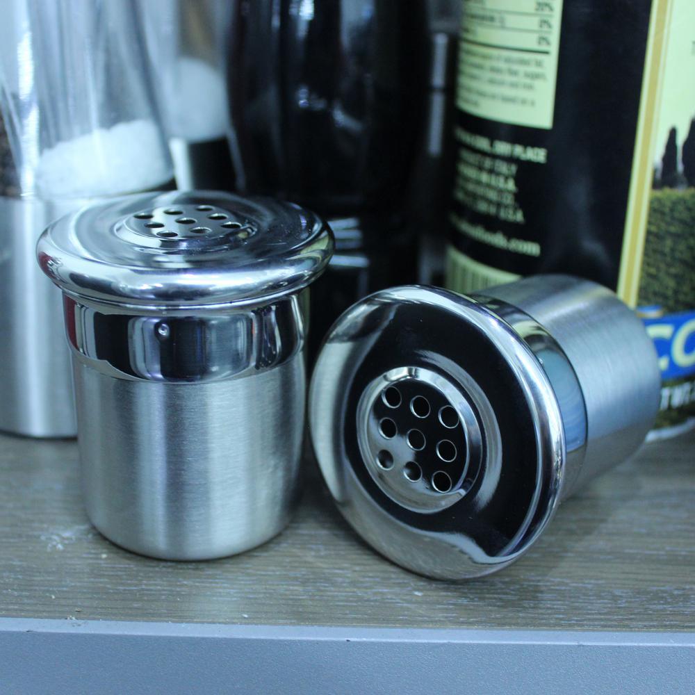 Geminis Stainless Steel Coarse Dispenser (Set of 2)