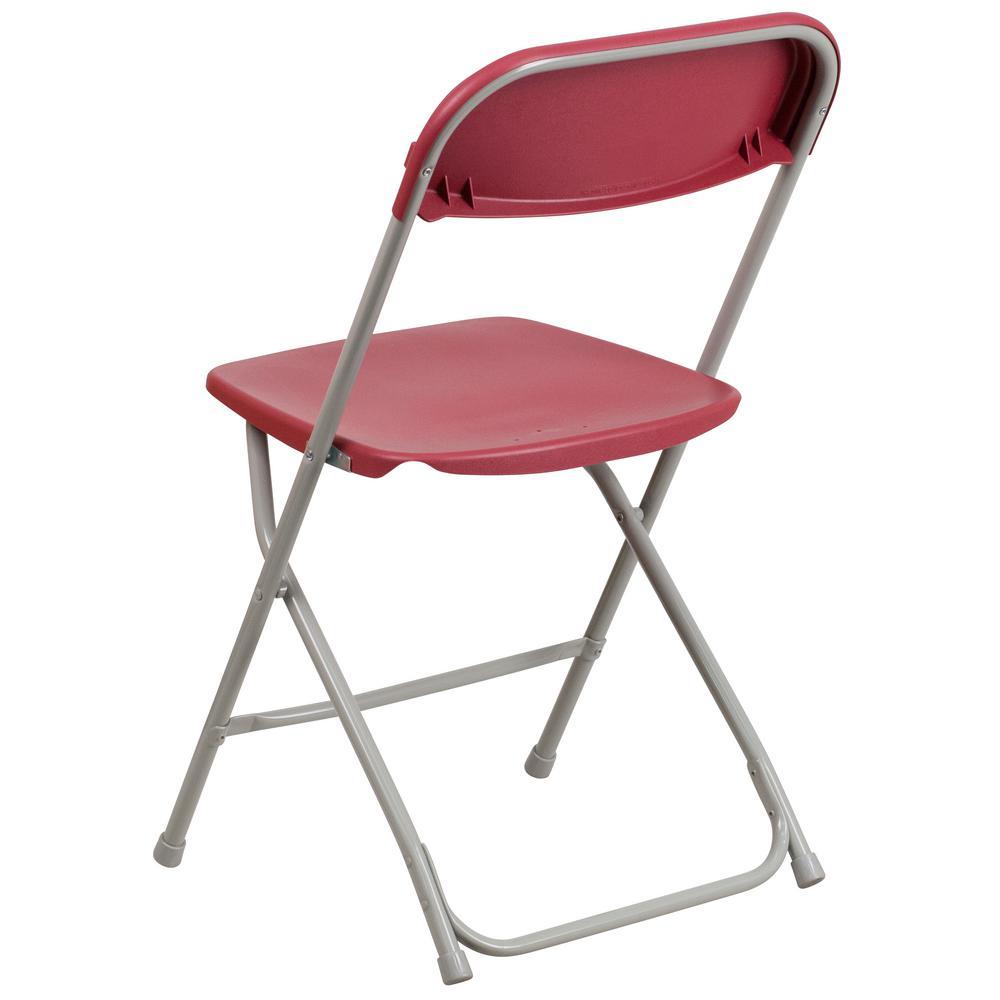 hercules series 800 lb capacity black plastic folding chair. internet #301092622. flash furniture hercules series 800 lb. capacity premium red plastic folding chair lb black e