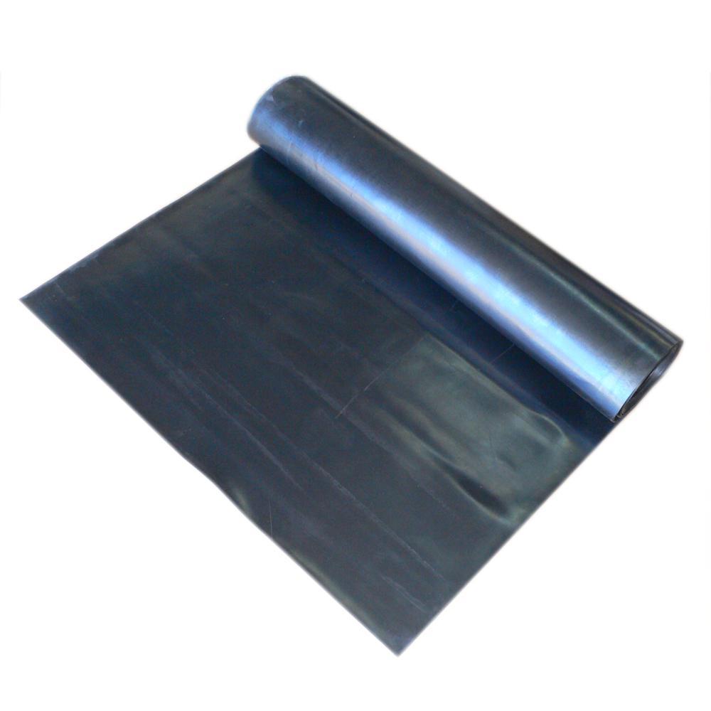 "1000 PSI 60 Shore A 3//8/"" x 12/"" Wide x 5/' Length Black SBR Rubber Sheets"