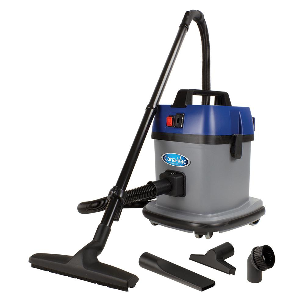 Canavac 3 Gal Commercial Canister Dry Vacuum 1 000 Watt
