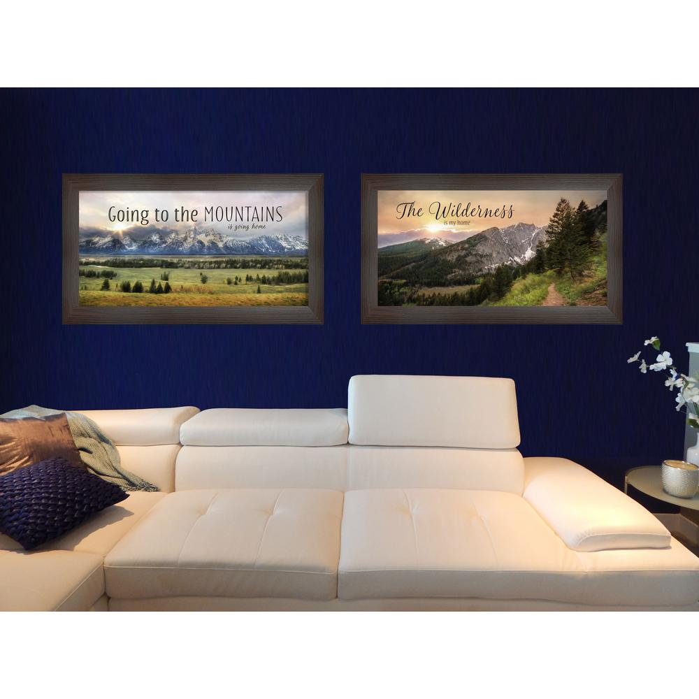 """11 in. x 21 in. """"Going to the Mountains"""" Collection by"""