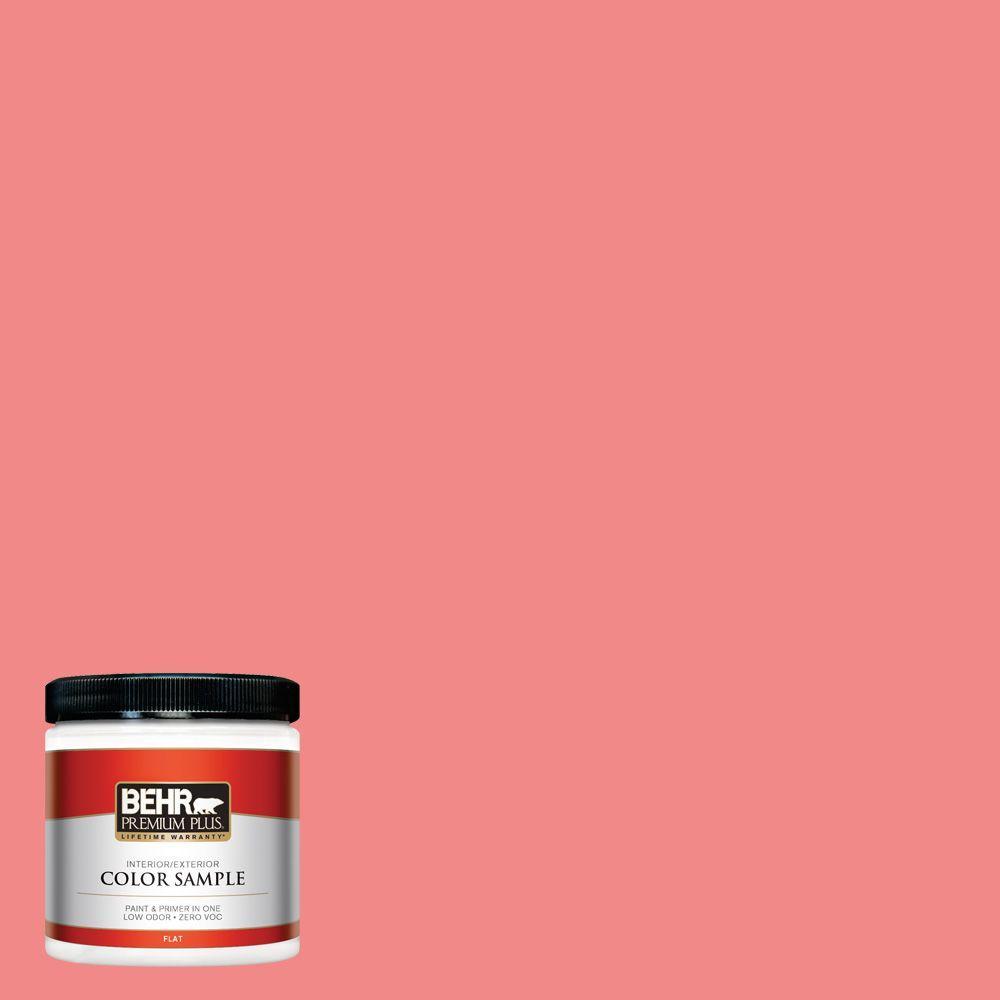 BEHR Premium Plus 8 oz. #150B-5 Cheery Interior/Exterior Paint Sample
