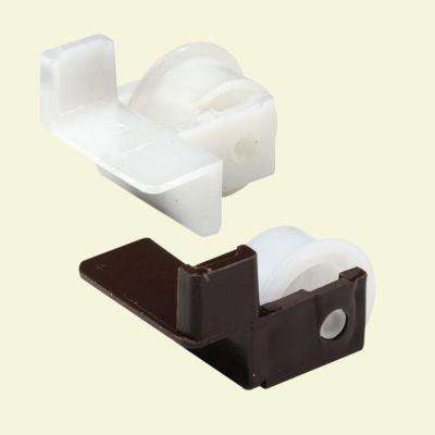 Plastic Drawer Guide Rollers (1-Pair)
