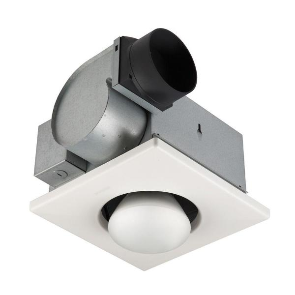 Ceiling Bathroom Exhaust Fan / Infrared Heater, 70 CFM, 250-Watt