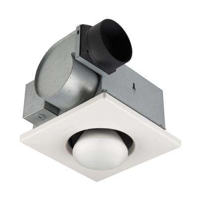 70 Cfm Ceiling Exhaust Fan With 250 Watt 1 Bulb Infrared Heater