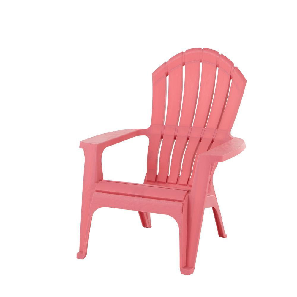 Realcomfort Flamingo Plastic Adirondack Chair 8371 93 4303