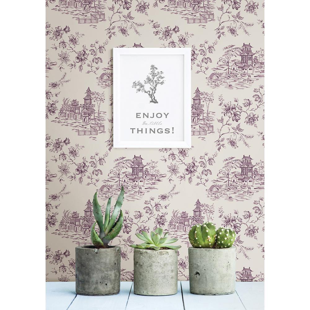 Graham & Brown Trippy Purple Wallpaper-30-449