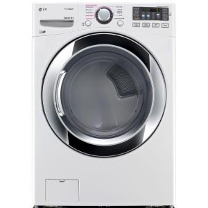 7.4 cu. ft. Electric Dryer with Steam in White, ENERGY STAR