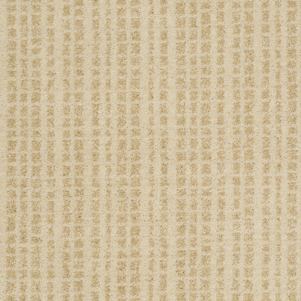 Martha Stewart Living Buckley Ridge - Color Brown Alpaca 6 in. x 9 in. Take Home Carpet Sample-DISCONTINUED