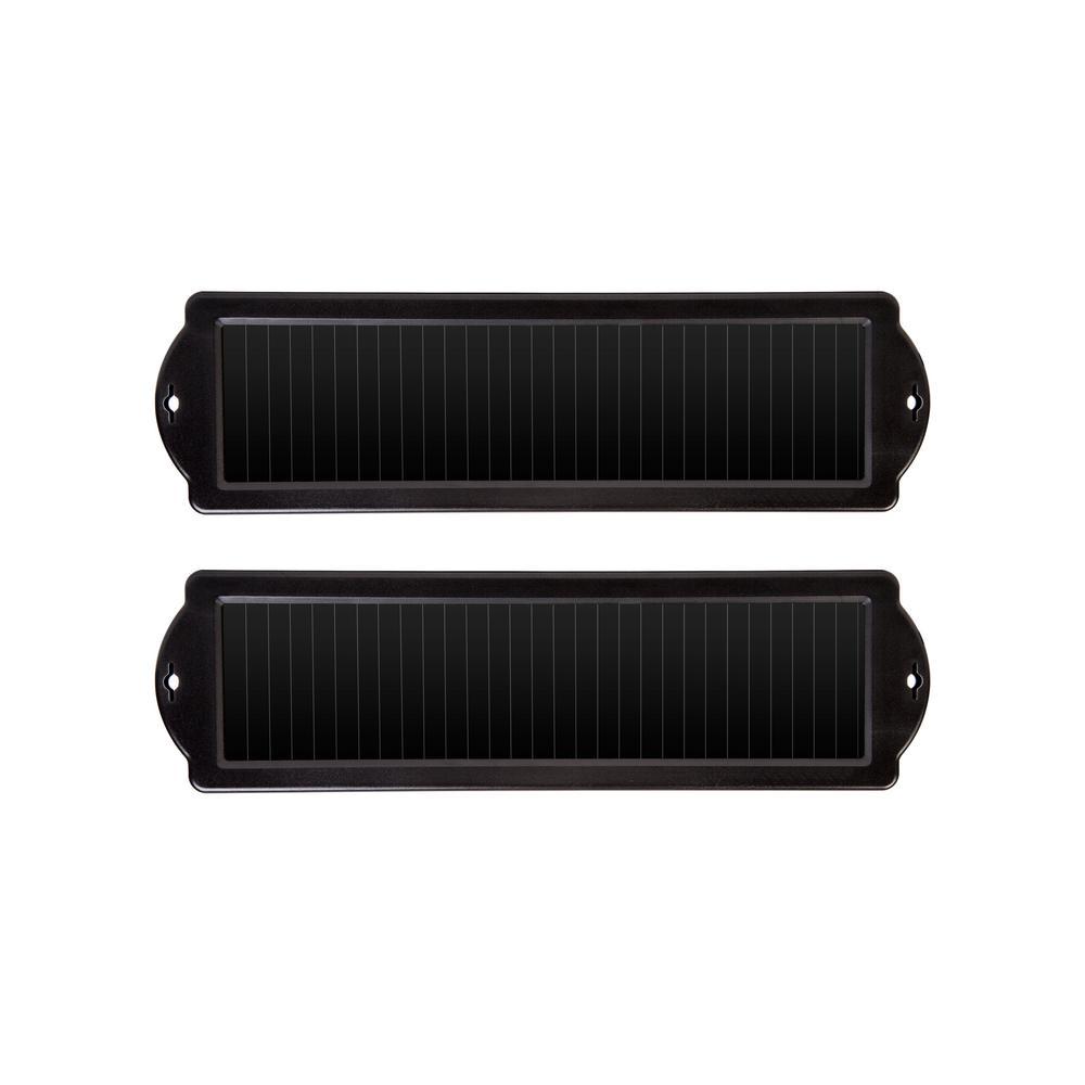 SUN FORCE 1-Watt Solar Power Sports Battery Charger (2-Pack)