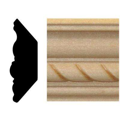 13/16 in. x 2-11/32 in. Hardwood Crown Moulding