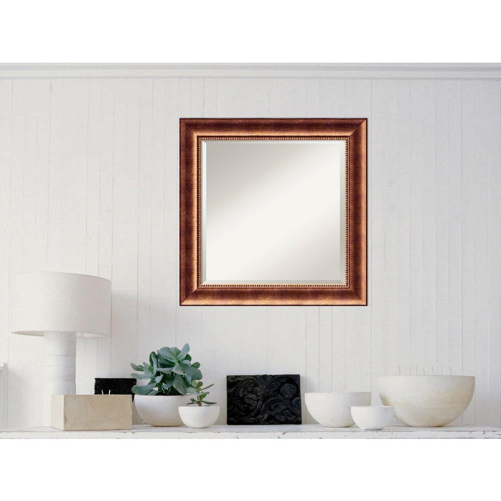 Manhattan Bronze Wood 26 in. W x 26 in. H Traditional