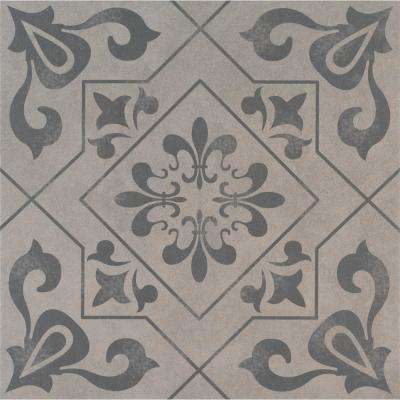 Hand Painted Ceramic Tile Tile The Home Depot