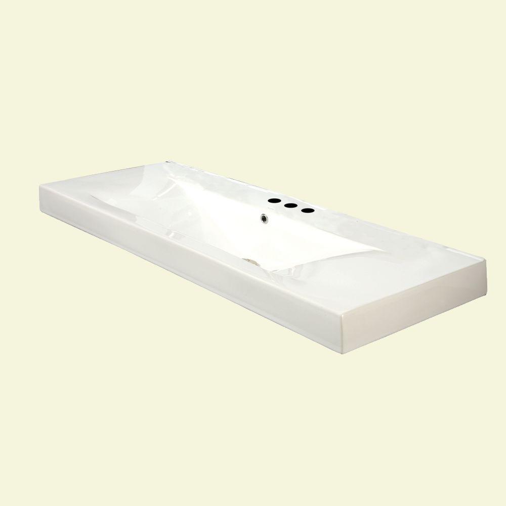 DECOLAV Cityview Vessel Sink in White