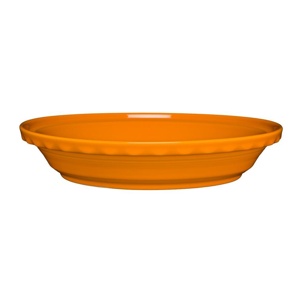 44 oz. Butterscotch Ceramic Deep Dish Pie Baker