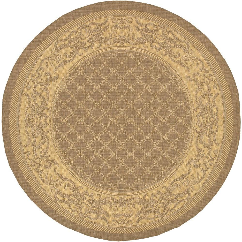 This Review Is From Recife Garden Lattice Cocoa Natural 9 Ft X Round Indoor Outdoor Area Rug