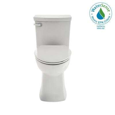 Townsend Vormax Tall Height 1-Piece 1.28 GPF Single Flush Elongated Toilet in White, Seat Included