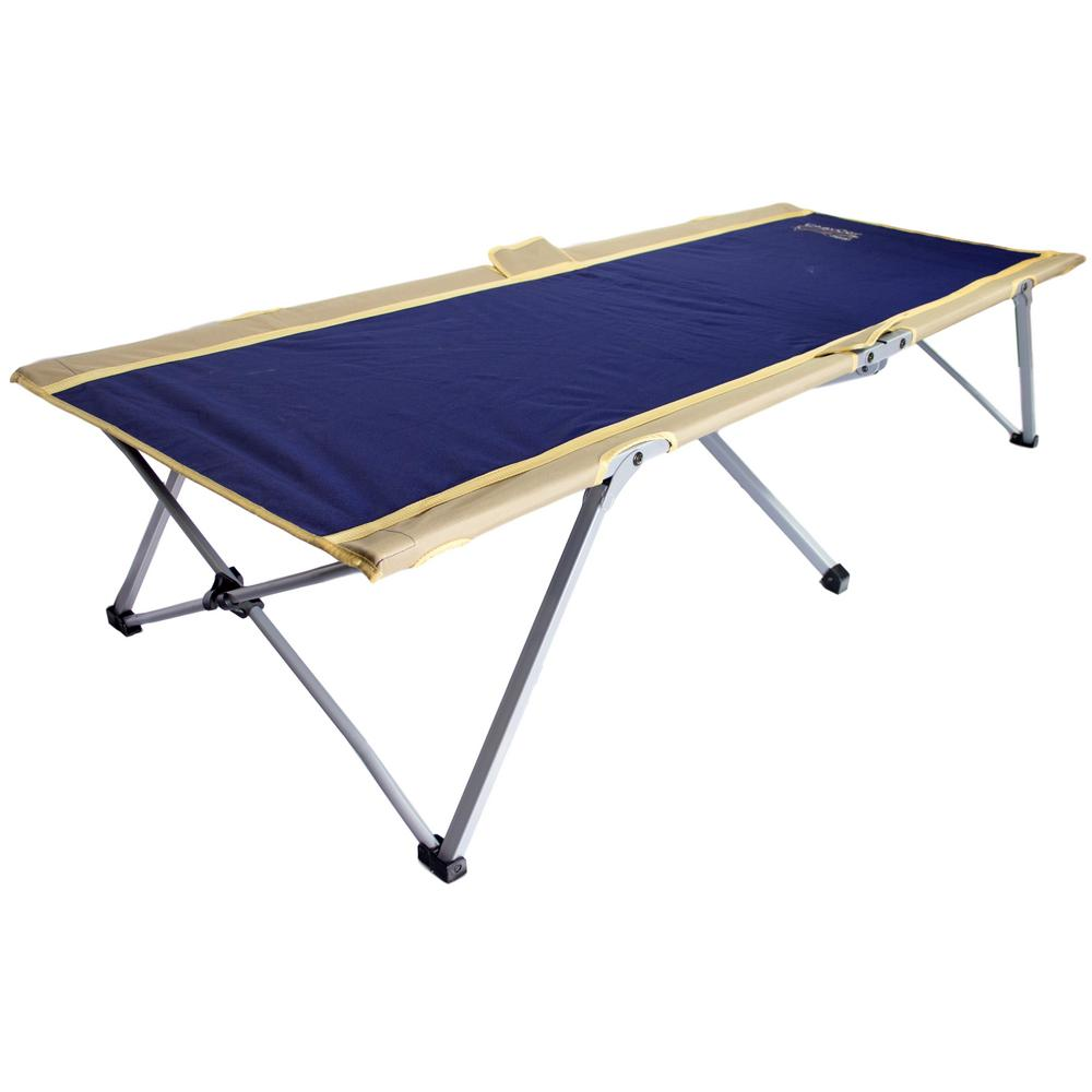 EasyCot 78 in. x 31 in. Steel Frame Polyester Cover Cot