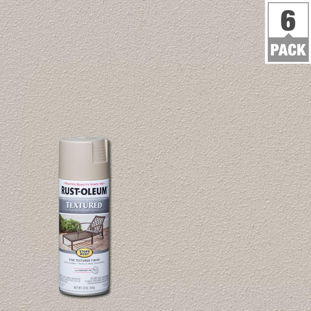 Rust Oleum Stops Rust 12 oz Textured Sandstone Protective Enamel