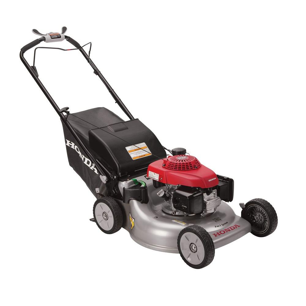 Honda 21 in. 3-in-1 Variable Speed Gas Self Propelled Mower with Auto Choke