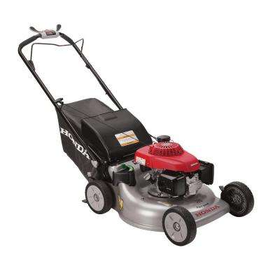 Refurbished 21 in. 3-in-1 Variable Speed Gas Walk Behind Self Propelled Lawn Mower with Auto Choke