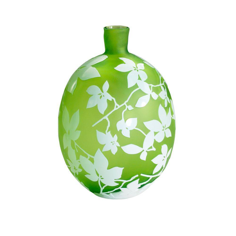 Filament Design Prospect 17.5 in. x 8.25 in. Brown Vase
