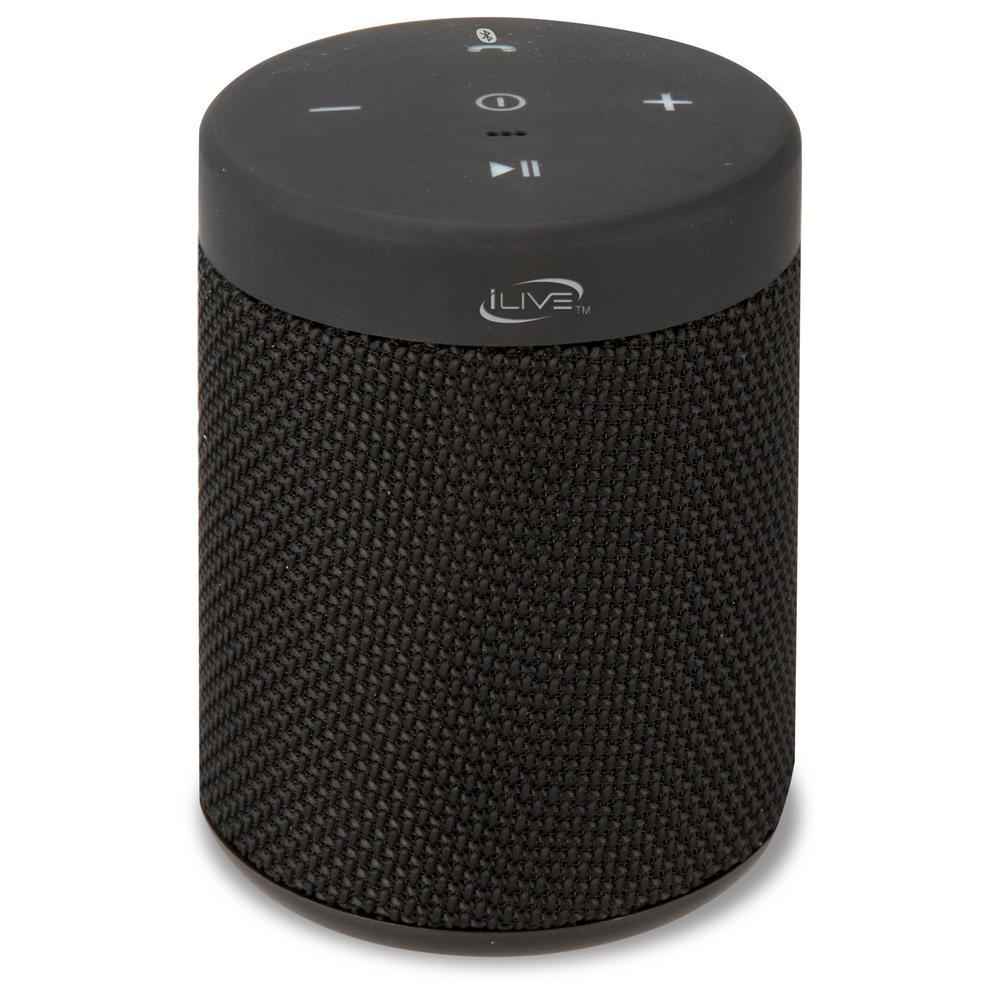 Water Resistant Portable Bluetooth Speaker, Black
