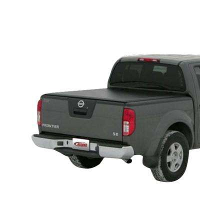Vanish 08-09 Titan King Cab 8ft 2in Bed (Clamps On w/ or w/o Utili-Track) Roll-Up Cover