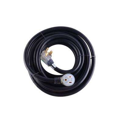 40 ft. Heavy-Duty 8 AWG/3C 6-50 NEMA R Plug Lighted Welding Cord with ETL Approved