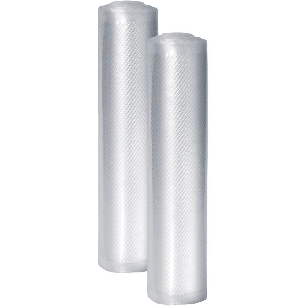 Professional 8-In. x 20-Ft. Food Vacuum Rolls, Set of 2