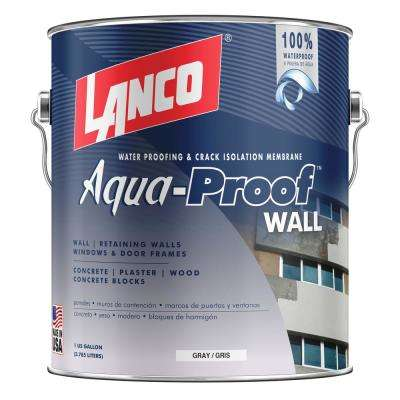 Aqua-Proof Wall 1 gal. Gray Interior/Exterior Water-Proofing Primer