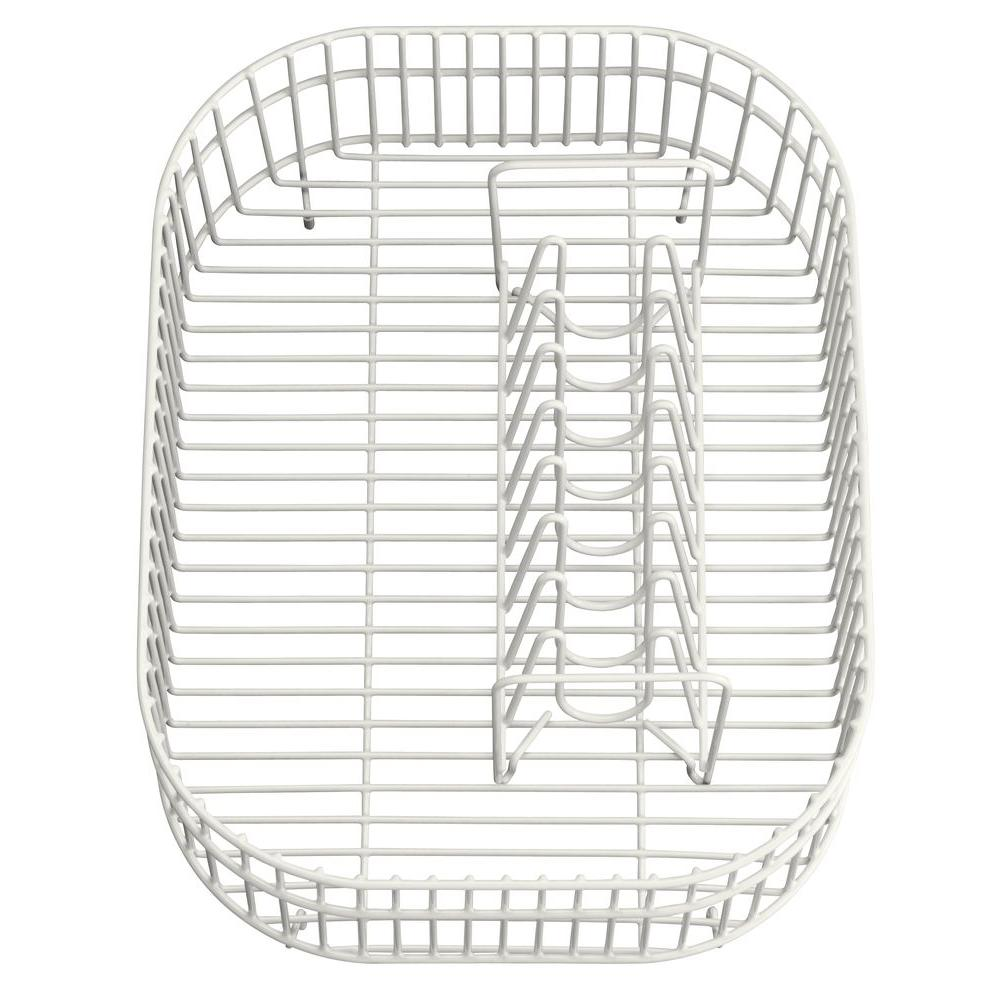 KOHLER Coated Wire Rinse Basket in White-DISCONTINUED