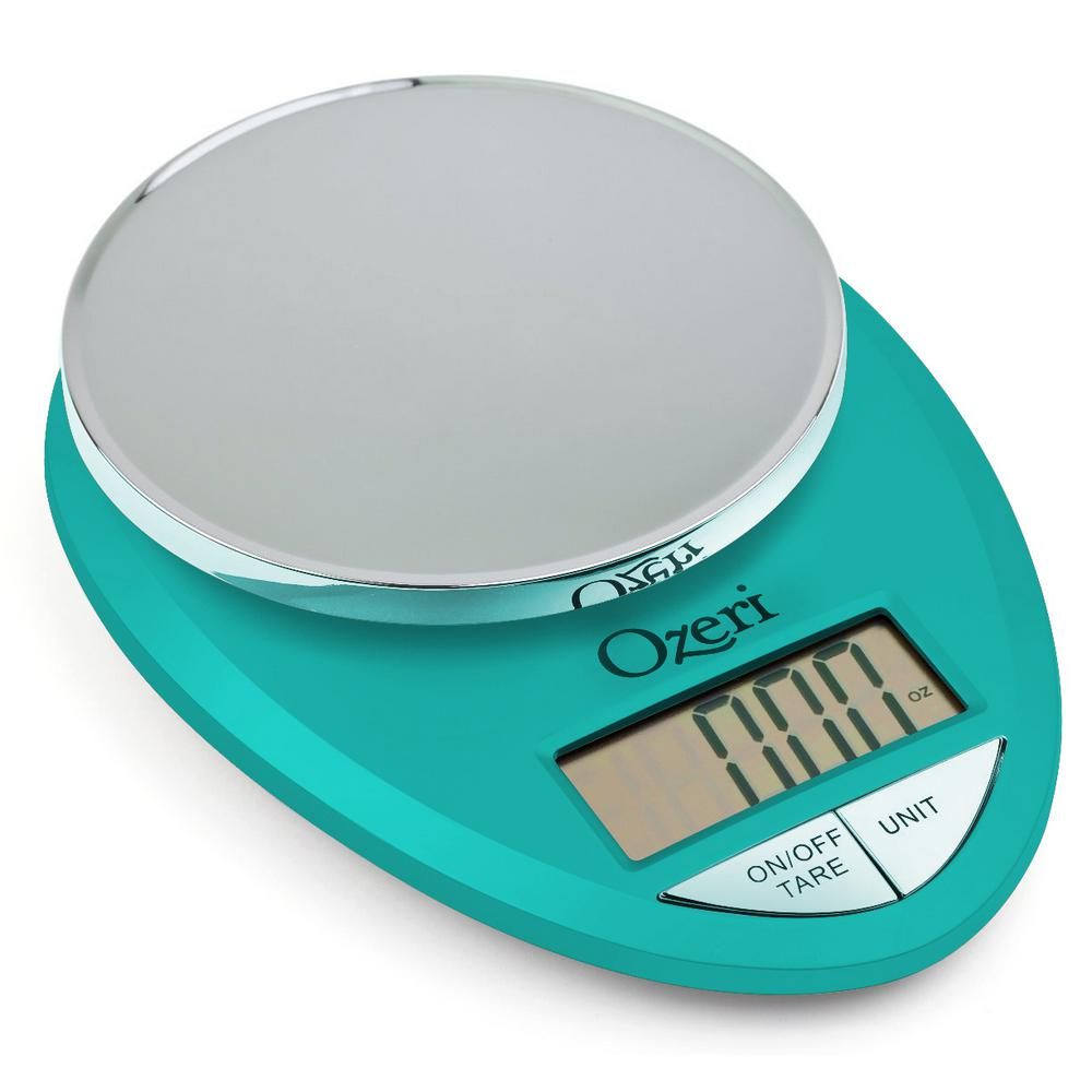 Ozeri Precision Digital Bath Scale with Widescreen LCD and StepOn ...