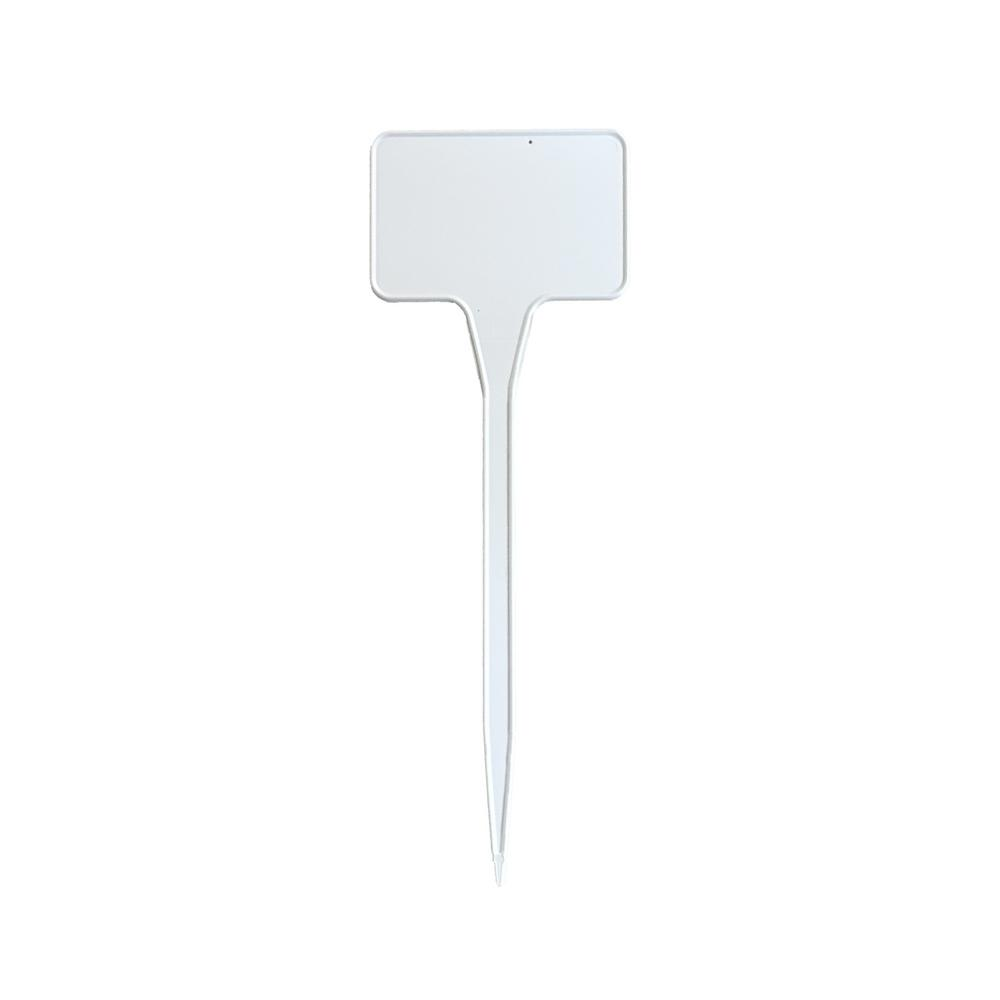 5 1 2 In White Plastic Plant T Labels Pack Of 250 Piece