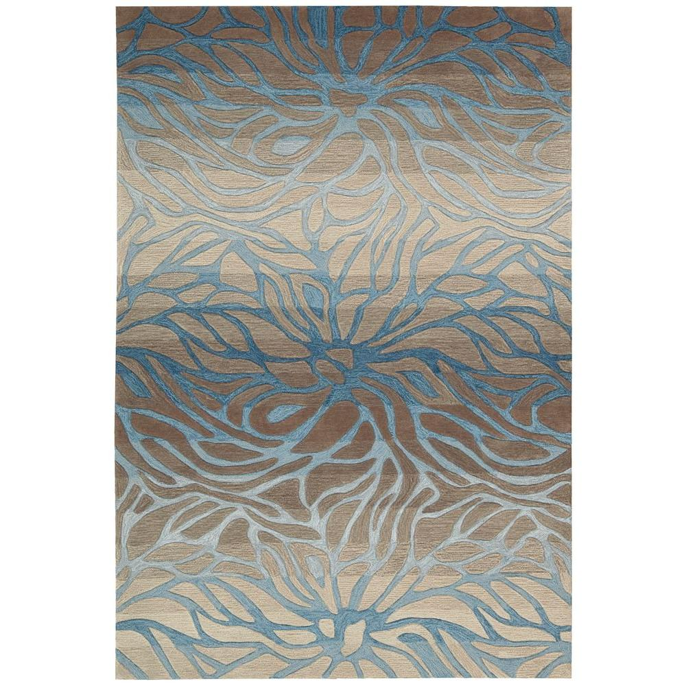 Contour Ocean Sand 5 ft. x 7 ft. 6 in. Area