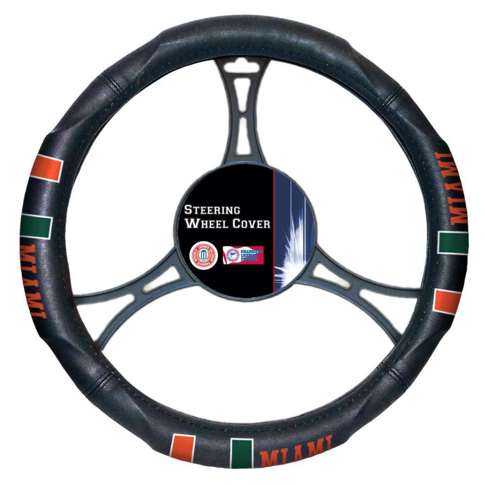 Miami Multi Colored Rubber- PVC Car Steering Wheel Cover