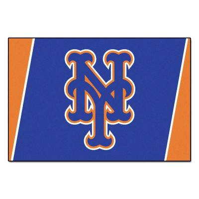 New York Mets 5 ft. x 8 ft. Area Rug
