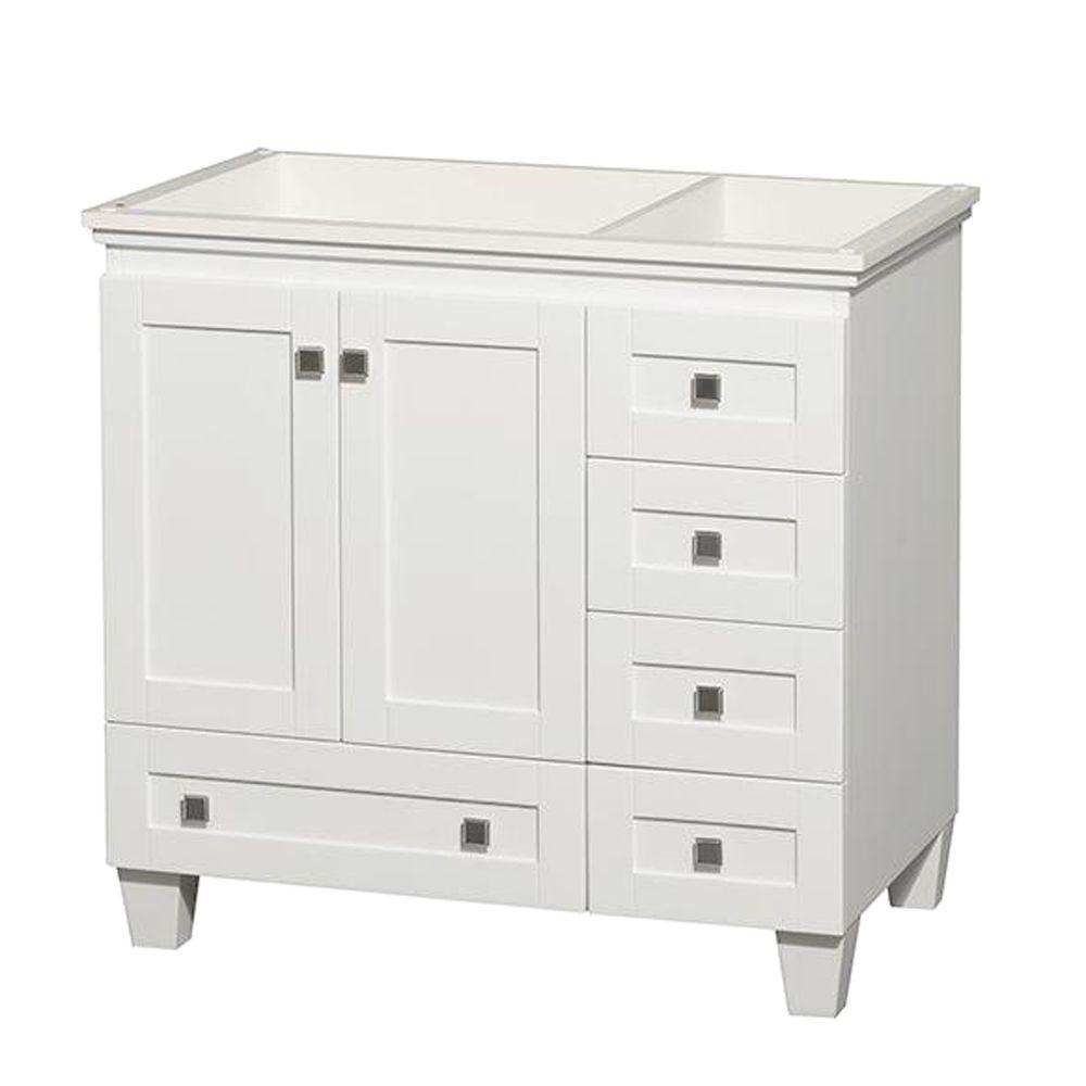 Acclaim 36 in. Vanity Cabinet Only in White